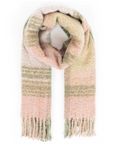 Powder Maggie Scarf in Moss Mix 9202