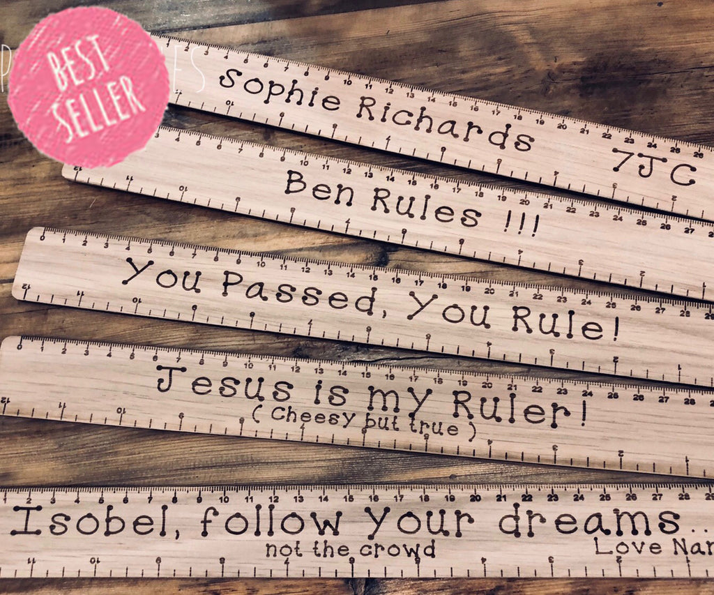 Personalised Ruler 6291