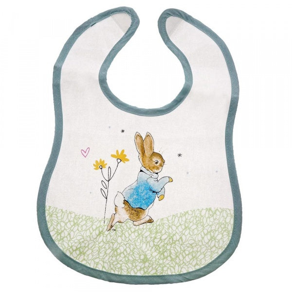 Beatrix Potter - Peter Rabbit Children's Bib 8753
