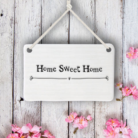 Porcelain Sign - Home Sweet Home 7729