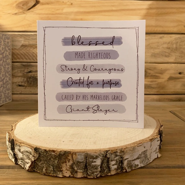 Highlights Card - Scripture Wording 11026