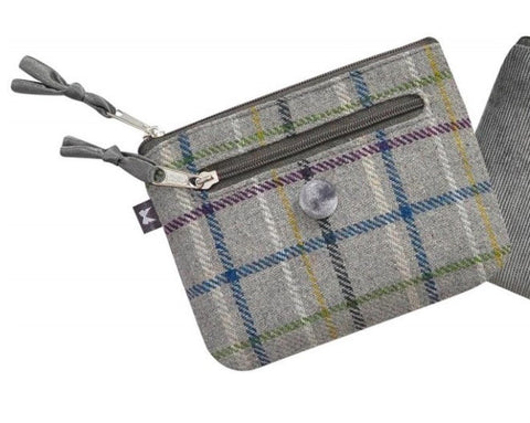 Tweed Emily Purse Grey 5339