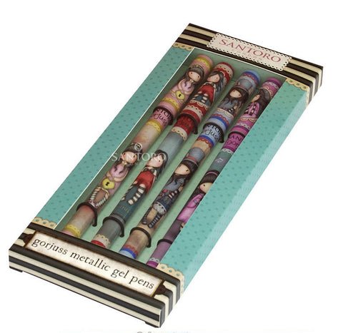 Gorjuss Gel Pen Set 5968