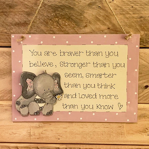 Personalised Animal Range - A5 Plaque 8639