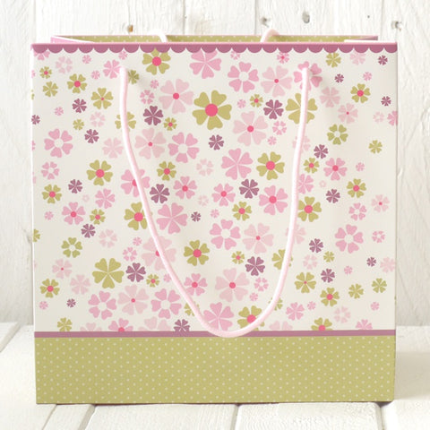 Medium Gift Bag - Flower 7430