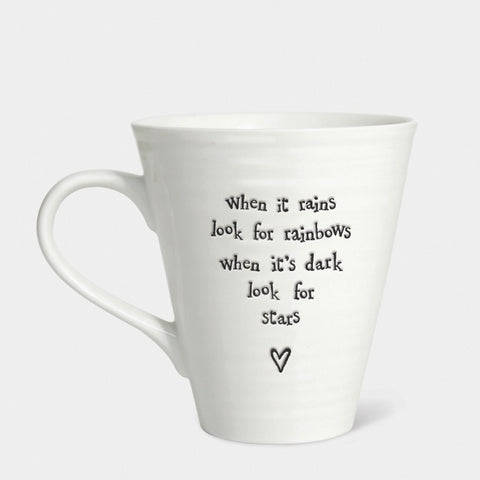 Porcelain Mug - When it Rains 1325