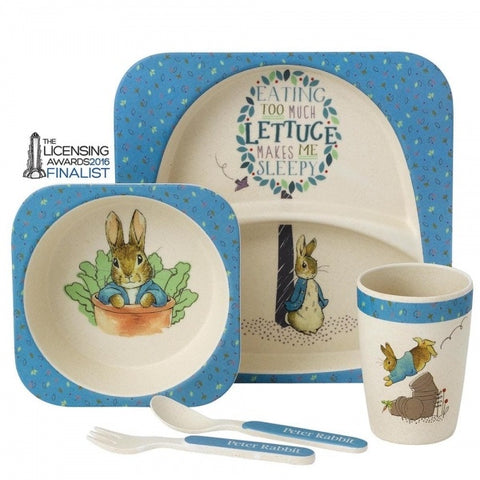 Beatrix Potter Peter Rabbit Organic Dinner Set 5063