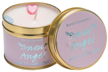Candle Tin - Snow Angel 5888