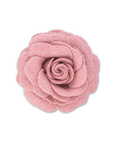 brooch - Pale Pink Rose 6895