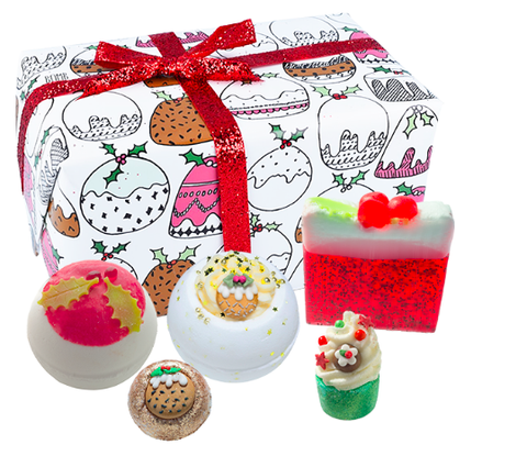 Bomb Cosmetics Gift Set - Figgy Pudding 8285