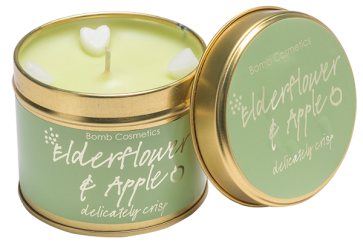 Candle Tin Elderflower and Apple 5537