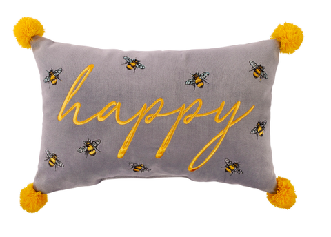Happy Luxe Bee Cushion 9453