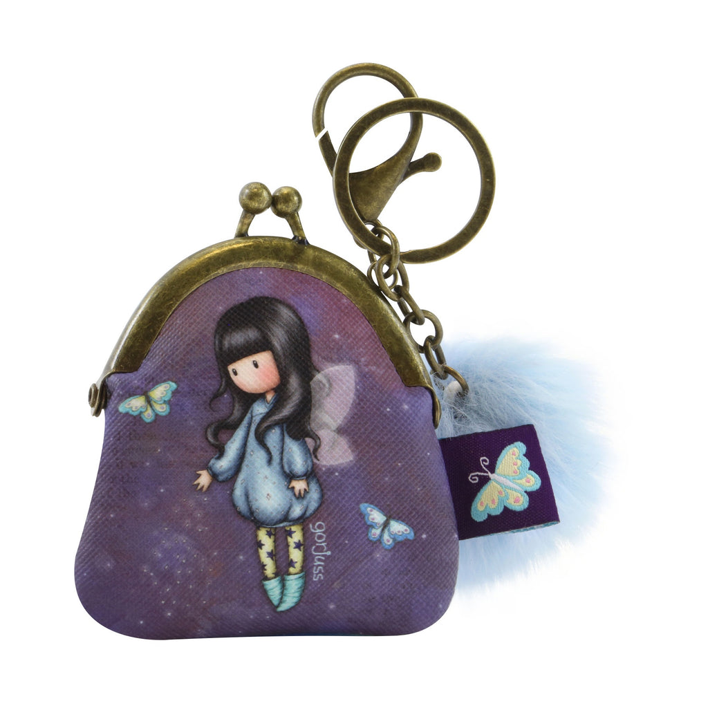 Gorjuss Keyring Clasp Purse - Bubble Fairy 8501