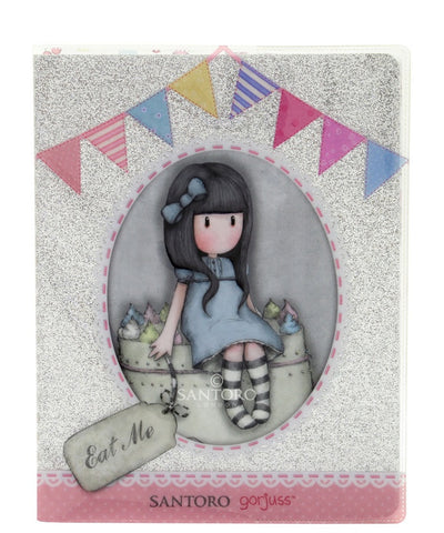 Gorjuss Glitter Notebook - Sweet Cake 6363