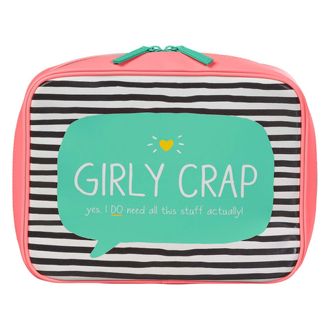 Wash Bag - Girly Crap 7408