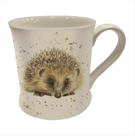 Bree Merryn Mug - Splash Art Hedgehog 10414