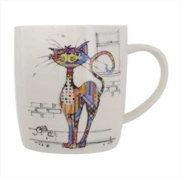Bug Art Mug in a Gift Box - Cola Cat 10409
