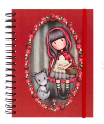 Gorjuss Wiro Journal - Little Red Riding Hood 7380