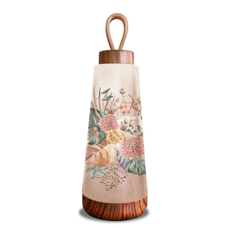 Bioloco Loop Thermal Bottle Mini - Dried Flowers 11136