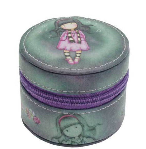 Gorjuss Round Accessory Holder - Little Song 589