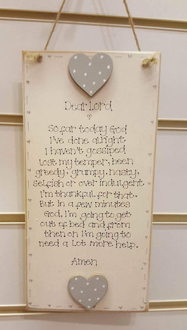 Handmade Long Picture - Dear Lord 4676