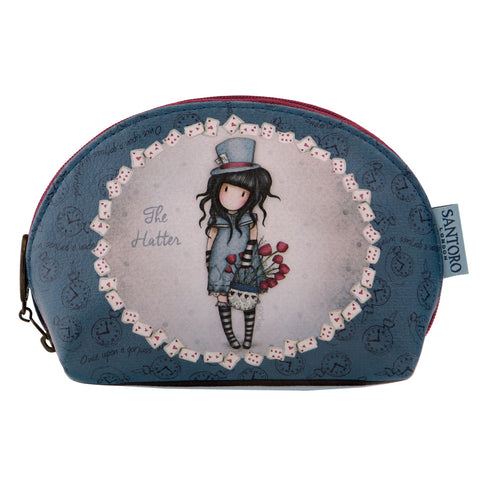 Gorjuss Large Shell Pouch - The Hatter 8088