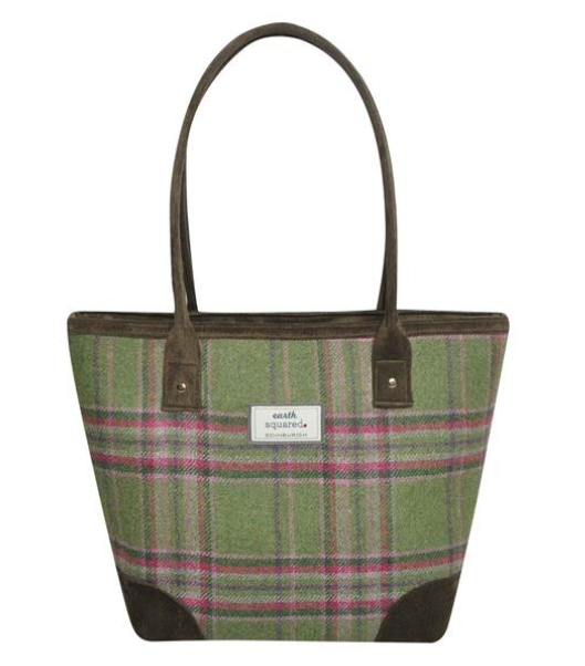 Earth Squared Tweed Tote Bag - Morrland 8372
