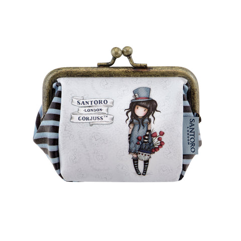 Gorjuss Puffy Clasp Purse - The Hatter 8103