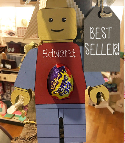 Lego Man with Cadbury's Egg 7537