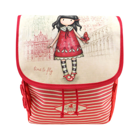 Gorjuss Cityscape Mini Rucksack - Time to Fly 7584