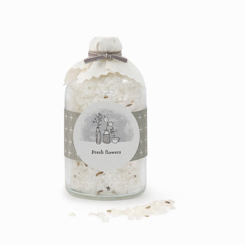 Cork Bottle Bath Salts - Fresh Flowers 7880
