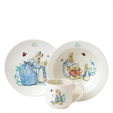 Beatrix Potter - Peter Rabbit 3 Piece Nursery Set 6237