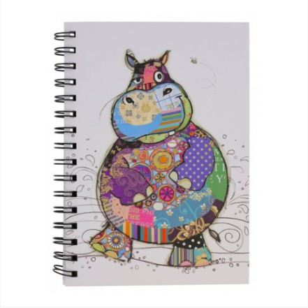 Bug Art Notebook - Harry Hippo 10411