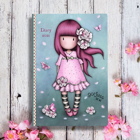 Gorjuss Pocket Diary - Cherry Blossom 10496