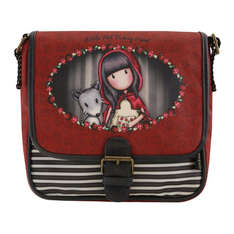 Gorjuss Coated Saddle Bag - Little Red Riding Hood 8086