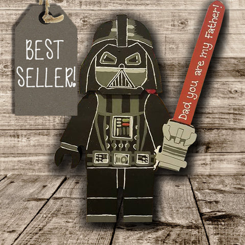Personalised Superhero Legoman - Darth Vader 7739