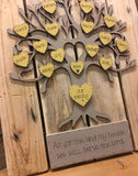 Lg Family Tree on Large Pallet Board 7761