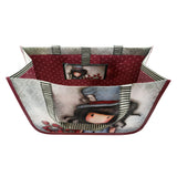 Gorjuss Woven Bag - The Hatter 6958
