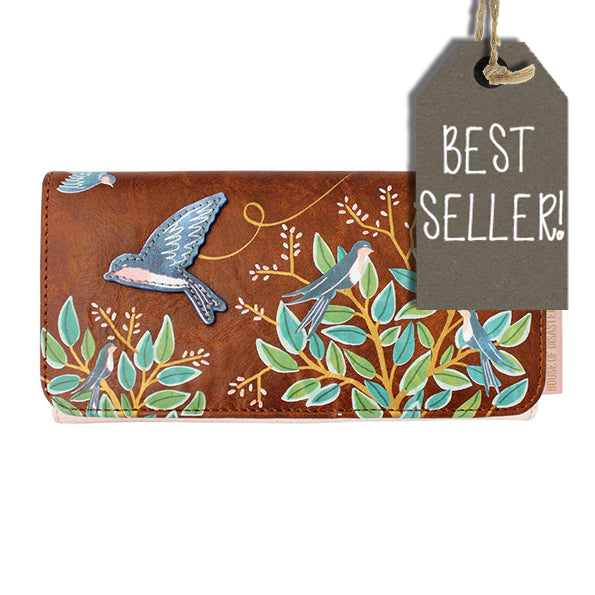 Disaster Secret Garden Bird Wallet 8412