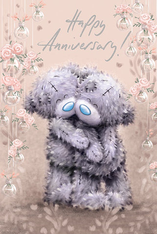 Me To You Greetings Card - Anniversary 10108