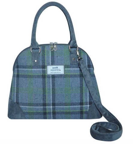 Earth Squared Tweed Phoebe Bag - Storm Grey 8375