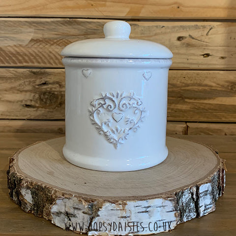 Ornate Heart Caddy 11277