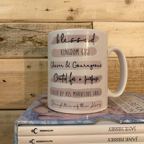 Highlights Personalised 10oz Mug - Scripture Wording 10703