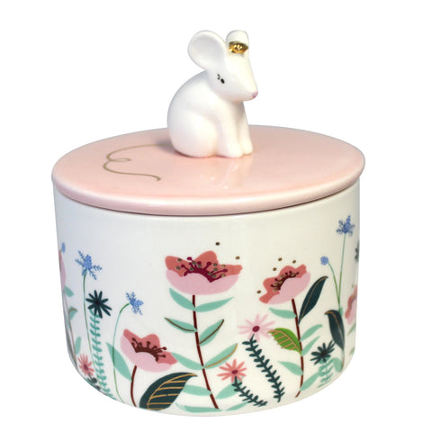 Disaster Secret Garden Mouse Jar with Gift Box 8352