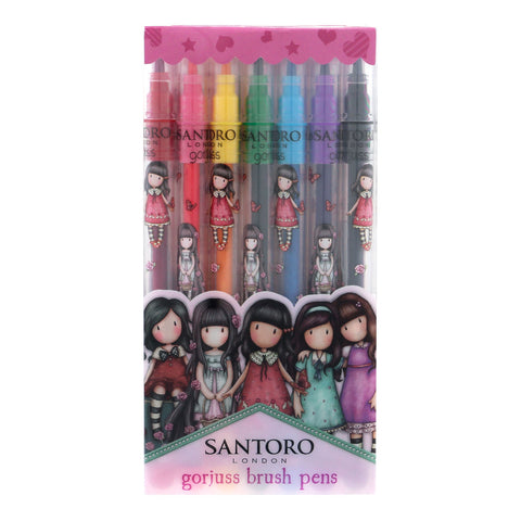Gorjuss Brush Marker Pens Set 8109