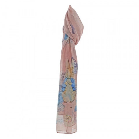 Beatrix Potter - Peter Rabbit Garden Scarf (Pink) 8762