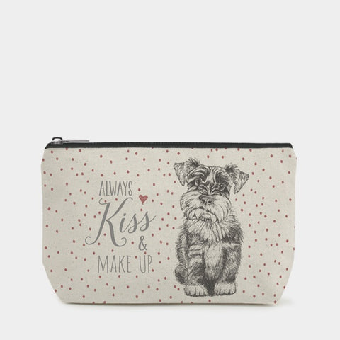 East of India Cosmetics Bag - Dog 1017