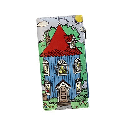 Disaster Moomin Wallet with House Print  8931