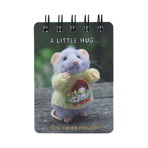 Tiny Squee Mousies Mini Notebook - A Little Hug 9517