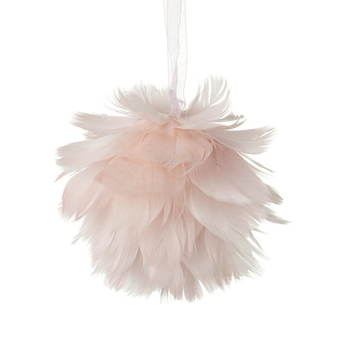 Pink Feather Decoration 9205